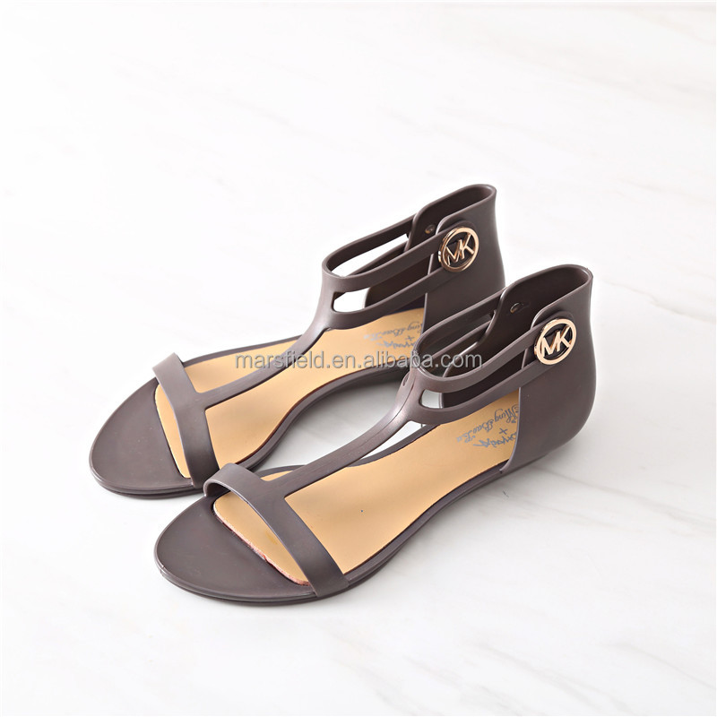 Fashion Design Beach PVC <strong>Sandals</strong> For Women