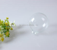2015 new high quality hanging clear glass christmas tree ornaments/christmas tree ball