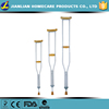 Adjustable Wood Crutch with Anti Slip Rubber and Foam Pad JL925L