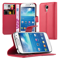 Book Wallet Phone Case Cover With Card Slots For Samsung Galaxy S4 Mini