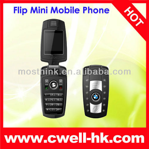 GSM Quad-band frequency small size M6 car cell phone