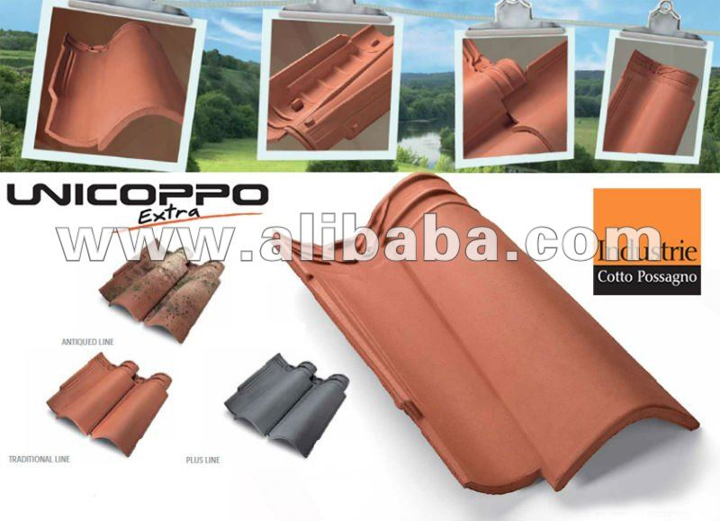 Unicoppo Extra Clay roof tile