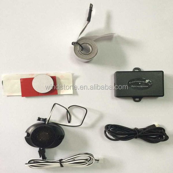 Electromagnetic Auto Car Parking Sensor Reversing Reverse Backup Radar With Buzzer Alarm No Drill No Hole
