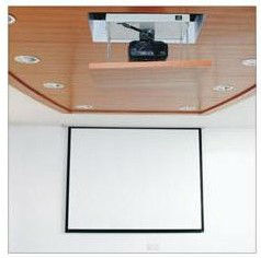 projector lift system for AV system