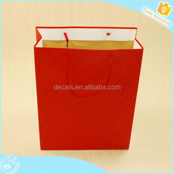 Get 100USD coupon factory price logo printed advertising kraft paper bags
