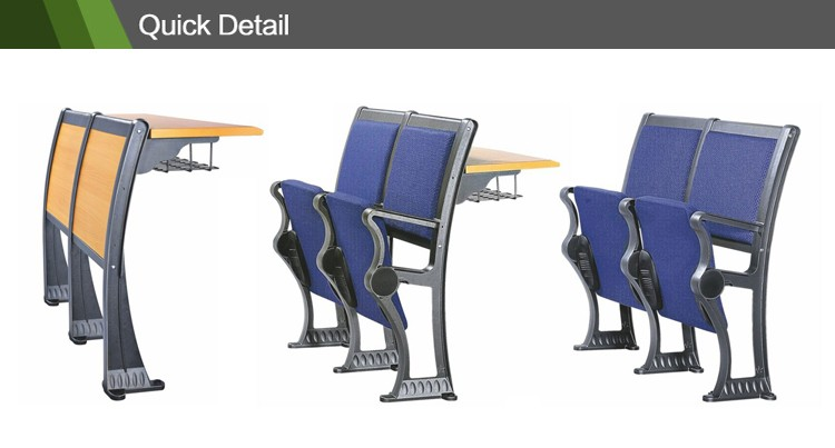 2016 high quality lecture hall chair hot sale classroom furniture school furniture CT-101
