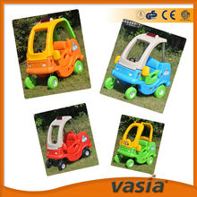 Plastic indoor car for children indoor plastic car slide