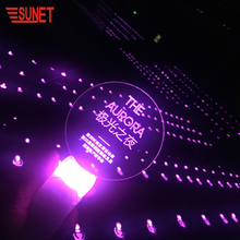 SUNJET 2018 Christmas Decoration New Product Party Supply High Quality Blue Biodegradable Glow Stick