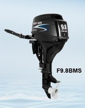 4-stroke 9.8hp outboard motor / electric start / tiller control /short shaft / F9.8BWS / PARSUN