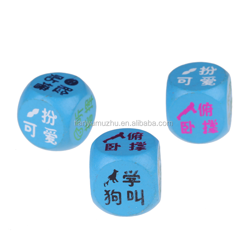 Professional cheapest wooden playing game Dice