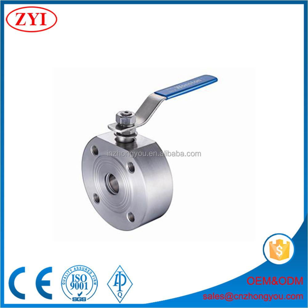 China manufacturer same quality as wafer ball valve made in italy