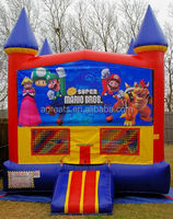 Most popular inflatable bounce house with art panel G2101