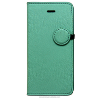 Flip leather case for iphone 5s with belt