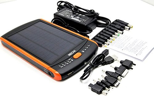 23000mah Universal Portable Fashion Solar Power Bank With Solar Panel kit For Travel