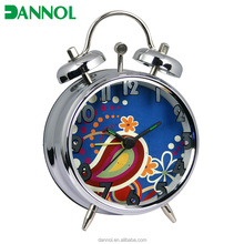 3inch pretty design mini travel special gift desk alarm clock wholesale