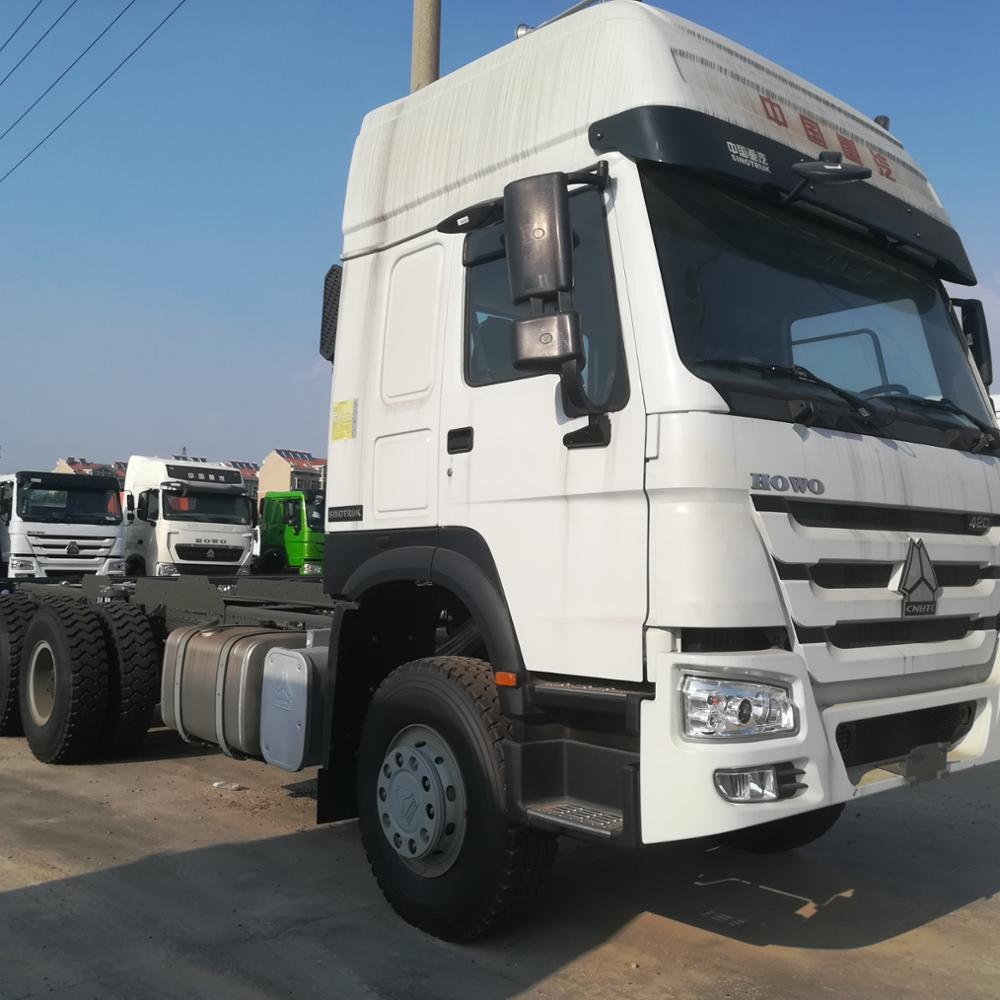 Sinotruk Howo A7 6x4 Diesel Type Tractor Truck Hot Sale In Asia,South America And Africa
