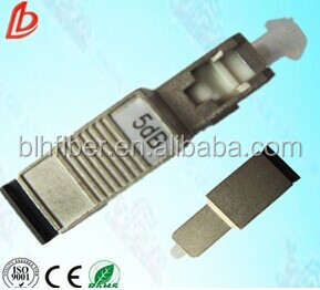 High precision&factory price 5 dB SC/PC M to F Fiber Optic Attenuator