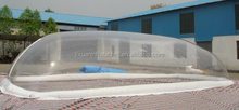 Outdoor Transparent Swimming Pool Cover Tent