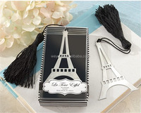 "Wedding Favors+""La Tour Eiffel"" Eiffel Tower Bookmark with ElegantTassel"