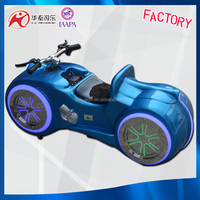 Canton Fair hot sale electronic racing car game machine - motor bike for kids amusement rides