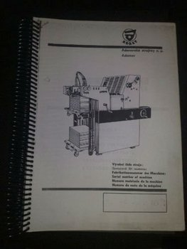 Parts Manual Part Number 414 Dominant Adast