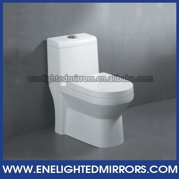 Ceramic Luxury Sanitary Ware Square dual flush one piece toilet