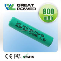 Quality classical 1.2v 2200mah rechargeable toys battery