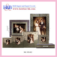 H&B Classical Newest Crystal Cover PVC Sheet Wedding Photo Albums
