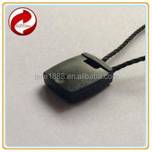 GZ-Time factory popular string seal tag , popular loop cord tag pin, pupular tag seal loop cord