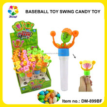 Juqi Cheap Baseball Baby Swing Toy Candy with Sweet