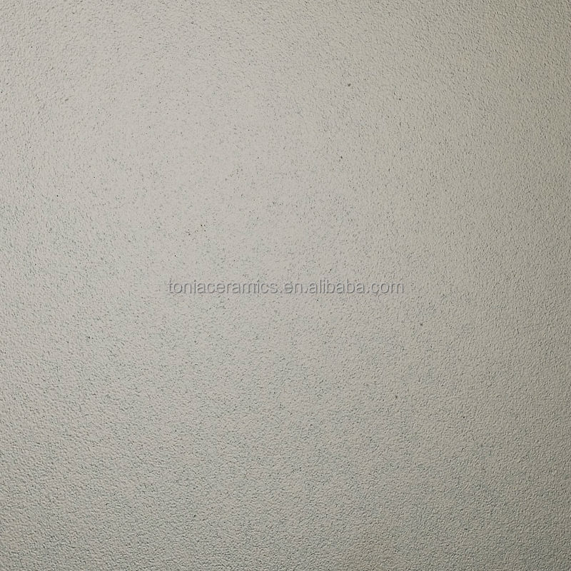 600x600mm Textured Silver Glazed Porcelain Metallic Floor Tile