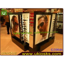 2014 display stand for sunglasses rack wooden sunglass rack design