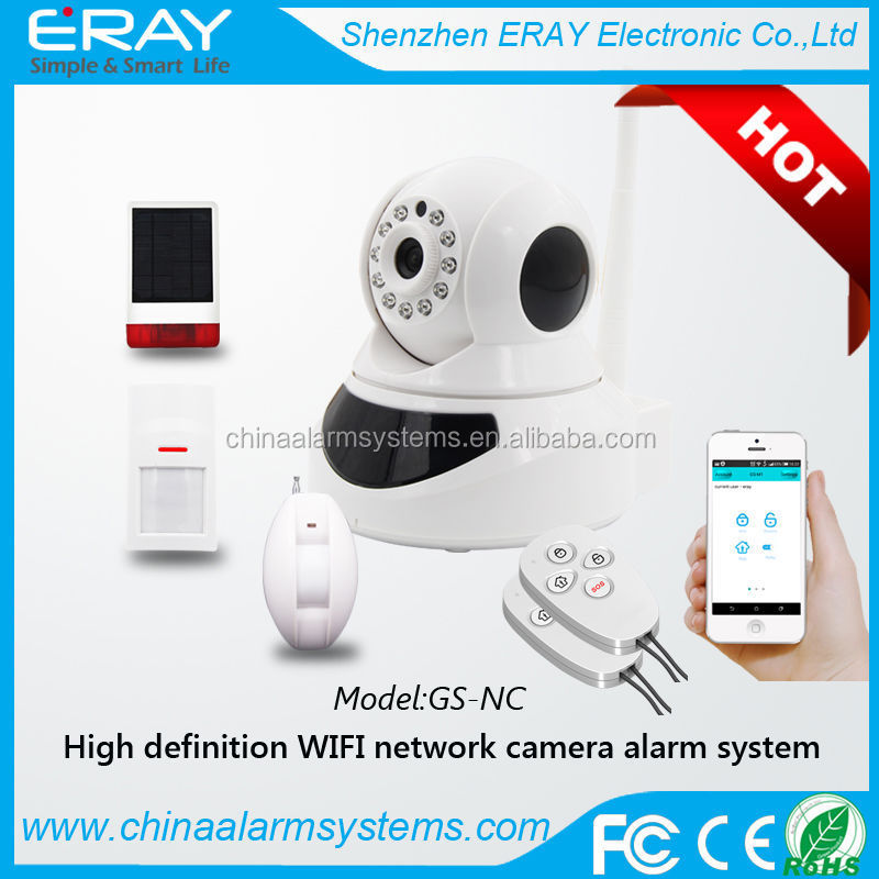 PTZ full rotate security cameras for import with wifi detector