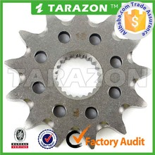 13teeth sell well motorcycle front sprocket for CRF 250R