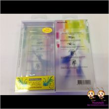 Blister cellphone back case pvc packaging boxes