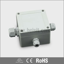 Electrical junction box for pole