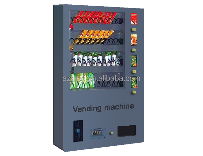 wall mounted high quality mini snack vending machine for sale