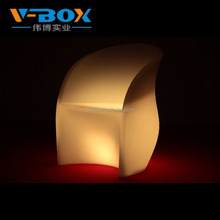 Hot sale Led furniture outdoor lighting glowing waterproof illuminated sofa