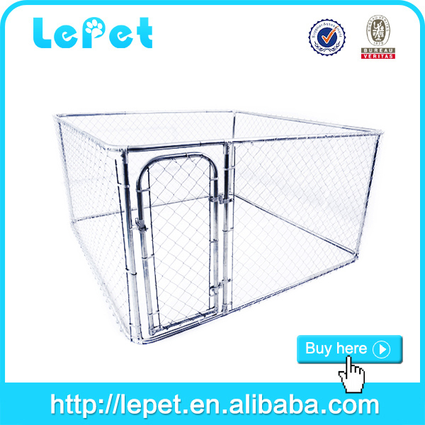 2015 hot selling iron winter dog's kennel