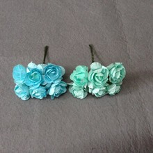2015 hot sale mini paper rose flower