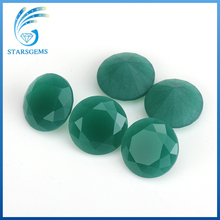 AAA round brilliant cut synthetic malaysian jade