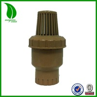 "NEW STYLE EVERGREEN 1/2""-1-1/2"" plastic foot valve"