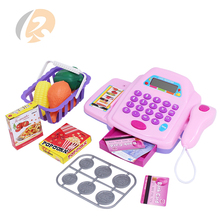 supermarket house toy cash register with light music