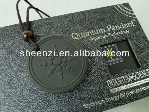 quantum pendant scalar energy necklace with box