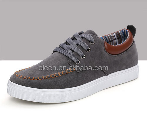 Top fashion men cheap injection canvas shoes