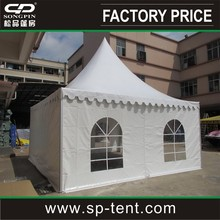 pvc waterproof tent 6mx6m with strong aluminum frame