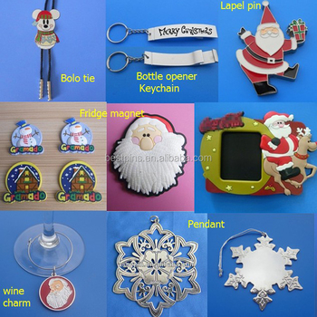 Bulk Santa Claus decorate clear christmas ornaments