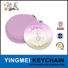 Fashion compact Metal hand held mirrors