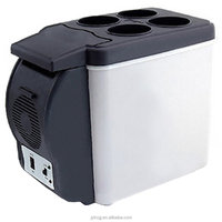 Car fridge mini Refrigerator Cool and Warm Available refrigerator
