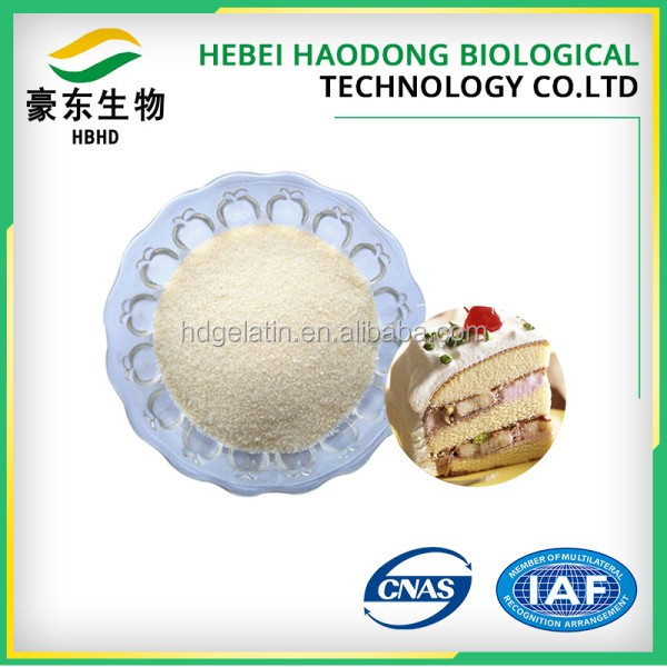 2017 Chewing Gum Bases,Emulsifiers,Stabilizers,Thickeners 200 bloom gelatine with low price